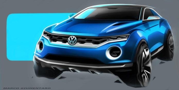 Volkswagen T-ROC concept 3