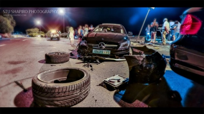 mercedes-CLA-45-AMG-crash-Cape-Town-South-Africa-2014 (1)
