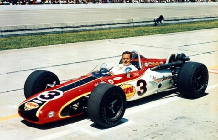 Bobby Unser's 1968 Indianapolis 500 winning car