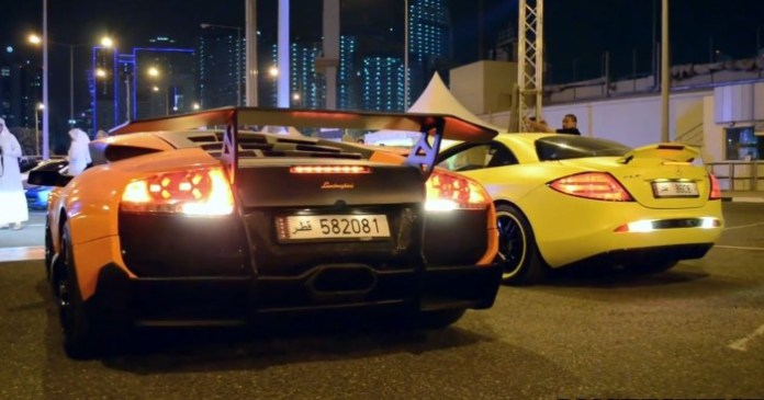 European Supercar Gathering in Qatar 2014