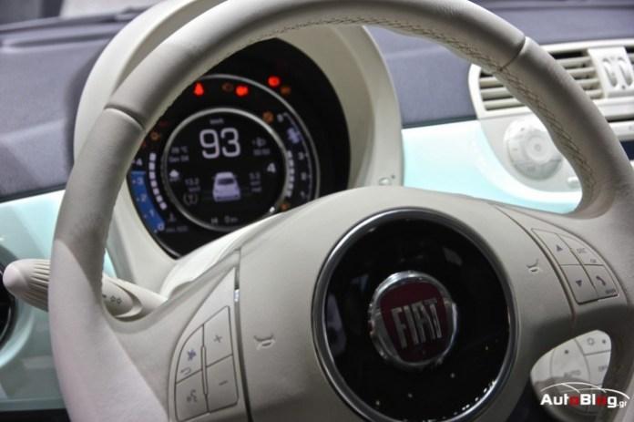Fiat 500 2014 in Geneva 2014