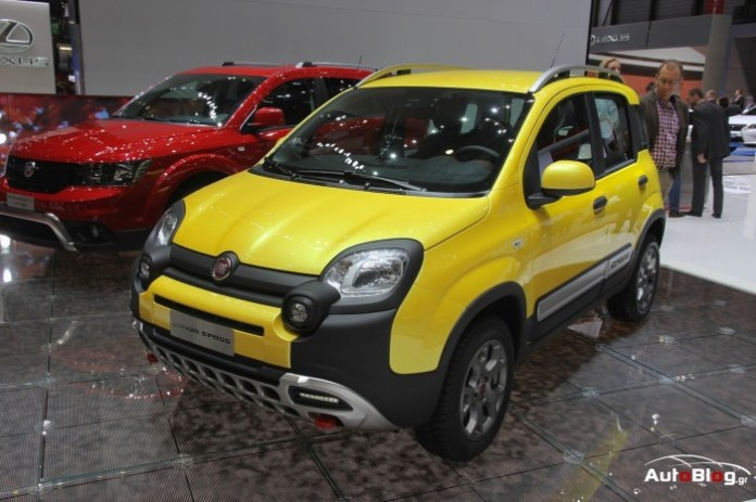 Fiat Panda Cross and Freemont Cross