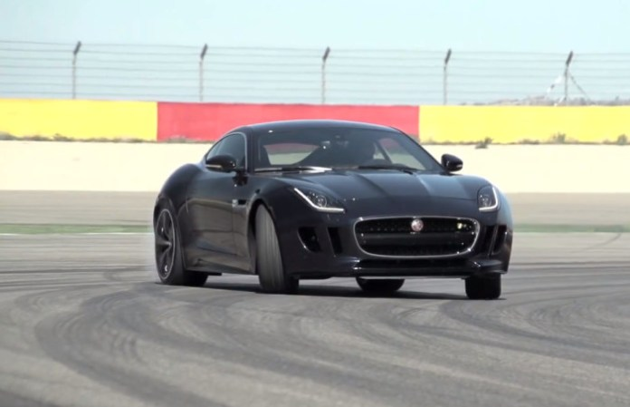 Jaguar F-Type Coupe R. 550hp on Street and Track