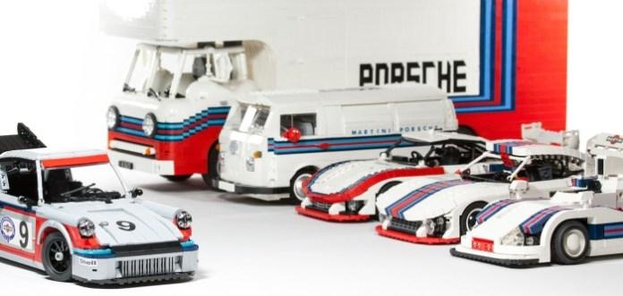 Lego Porsche Martini Collection 1
