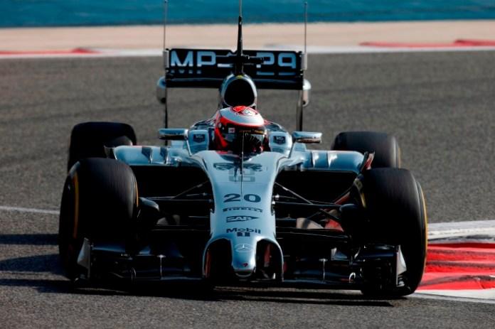 Magnussen McLaren Bahrain