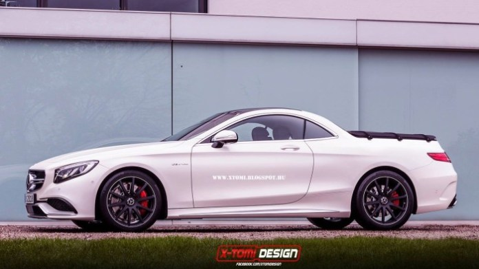 Mercedes-S-Class-Coupe-Pickup-Truck-#[3]