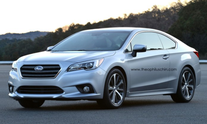 Subaru Legacy Coupe rendering