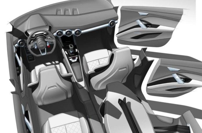 Audi Q4 Concept design sketches
