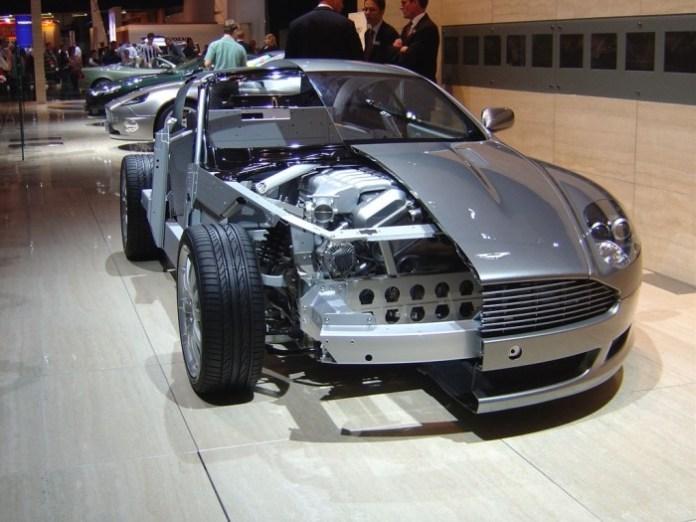 Aston Martin cutaway