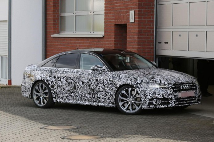 Audi S6 Facelift 2015 Spy Photos