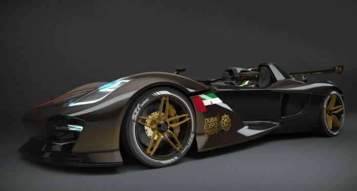 Dubai Roadster rendering 1