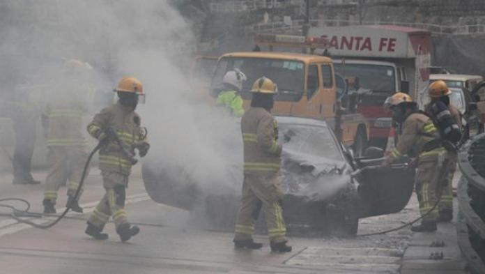 Ferrar FF fire in Hong Kong