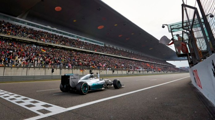 Lewis Hamilton - China GP