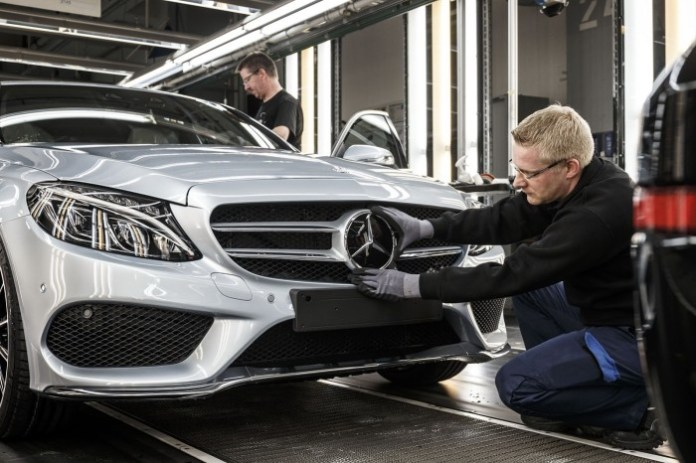 Mercedes-Benz-C-Class-assembly plant