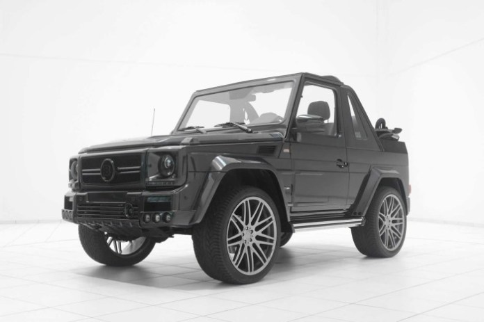 Mercedes-Benz G500 Convertible by Brabus 24