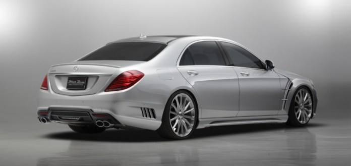 Mercedes S-Class Black Bison by Wald (2)