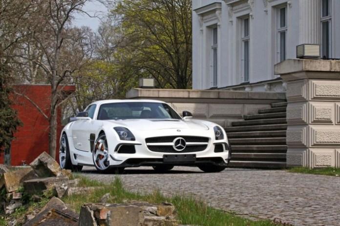 Mercedes SLS AMG by SGA Aerodynamics (1)