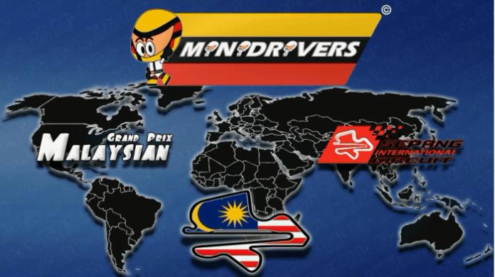 Minidrivers Malaysian GP 2014