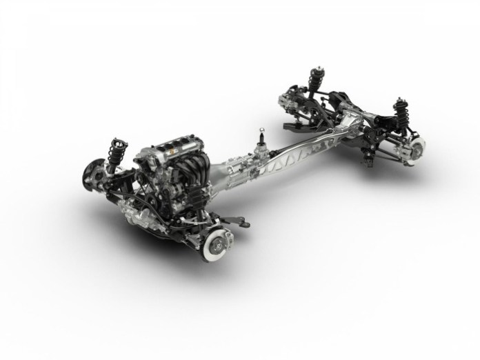 Next-gen Mazda MX-5 chassis
