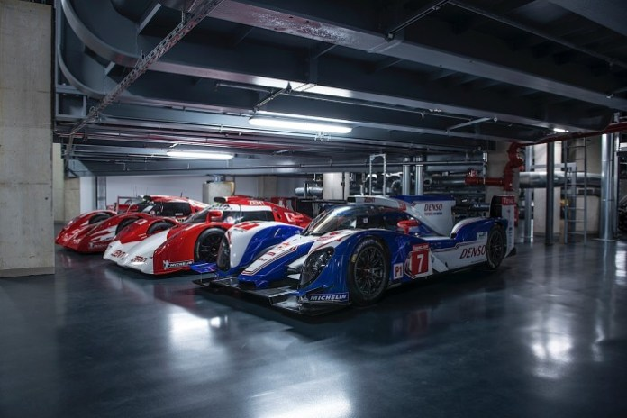 Toyota Le Mans Race Cars