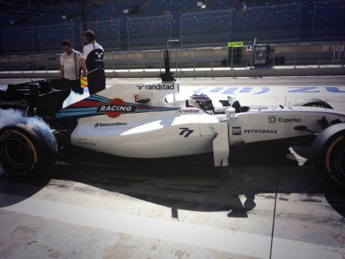 Williams Bahrain 3rd Test - Day 1
