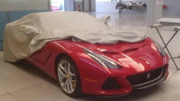 one-off Ferrari F12 Berlinetta Targa