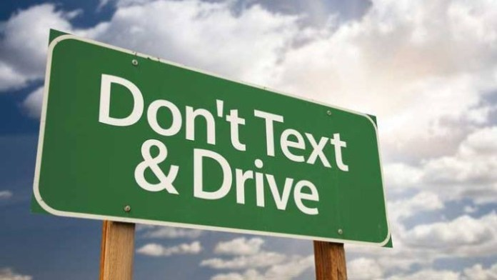 text and driving sms