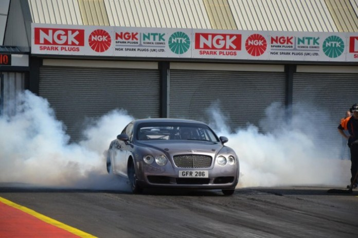 Bentley Continental GT modified for drag racing (2)