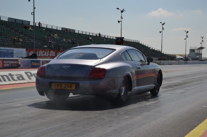 Bentley Continental GT modified for drag racing (3)