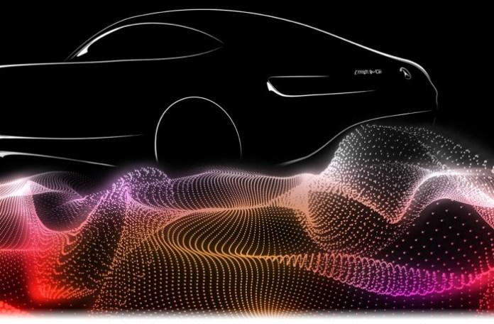 Mercedes AMG GT teaser