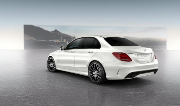 Mercedes-Benz C-Class with Night Package (3)