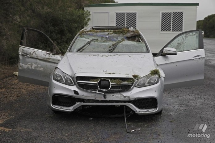 Mercedes-Benz E 63 AMG Crashed 02