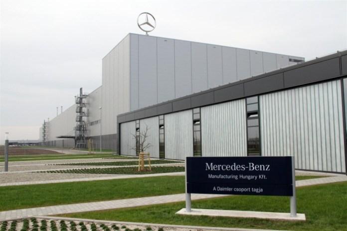 Mercedes-Benz cla production Kecskemet