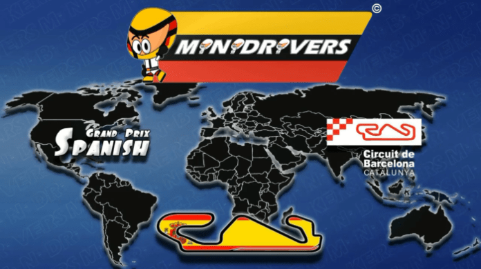 Minidrivers Spanish GP 2014