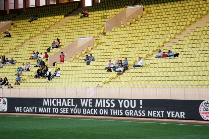 Monaco football game