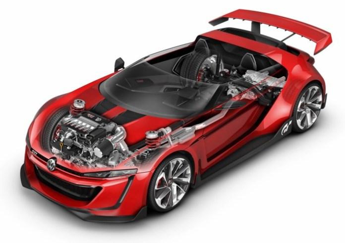 Volkswagen GTI Roadster Vision Gran Turismo Concept