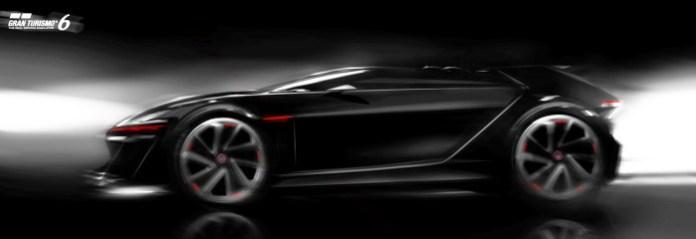 Volkswagen GTI Vision Gran Turismo teaser