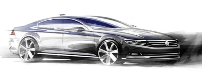 Volkswagen Passat 2015 first official photos