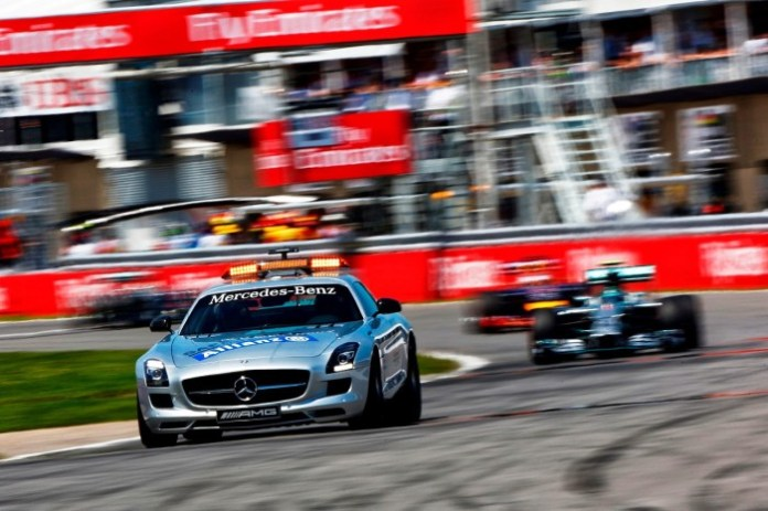 2014 Canada F1 GP - F1-Fansite.com_00012 (Safety car on the Montreal track) Andy Hone-Getty Images
