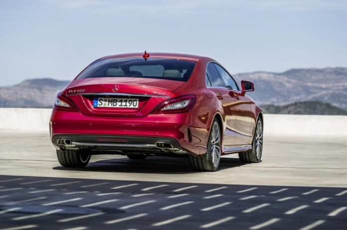 2015 Mercedes-Benz CLS facelift 13