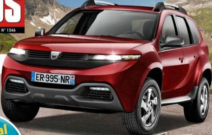 2017 Dacia Duster rendering (1)