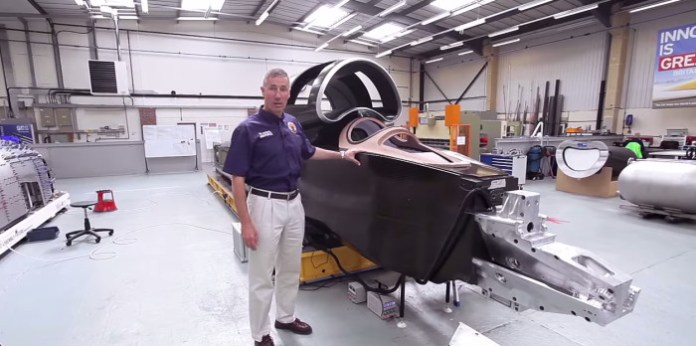 Andy Green's 1,000mph Office Revealed