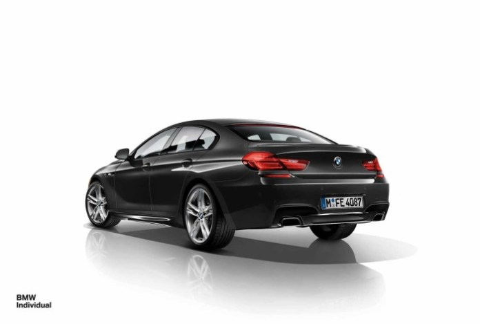 BMW Individual 6-Series Gran Coupe 1