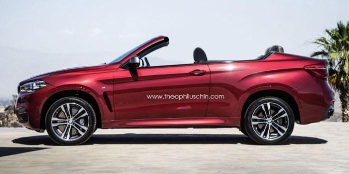 BMW X6 cabrio