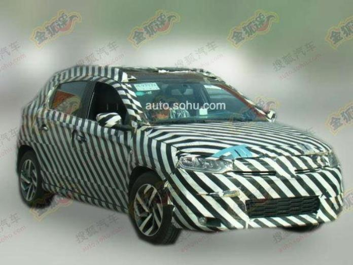 Citroen C-XR production version spy photo (1)