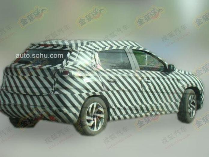 Citroen C-XR production version spy photo (2)