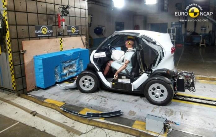 Euro NCAP Heavy Quadricycles