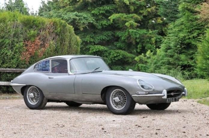 Jaguar E-Type barnfind