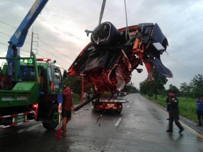 Lamborghini Gallardo crash in Thailand (3)