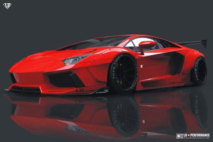 Liberty Walk Lamborghini Aventador (1)